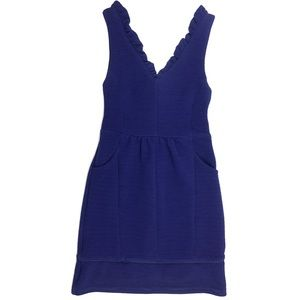 NWT Anthro Maeve Ottoman Little Blue Dress - Small